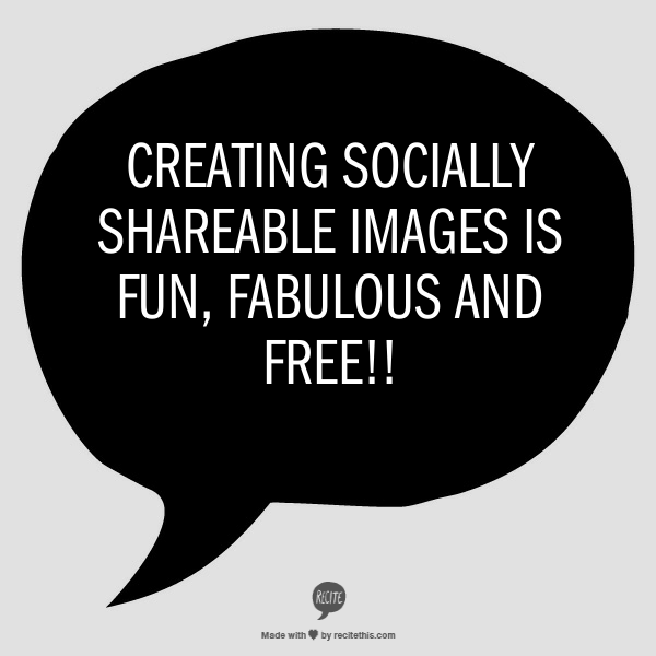 creating socially shareable images
