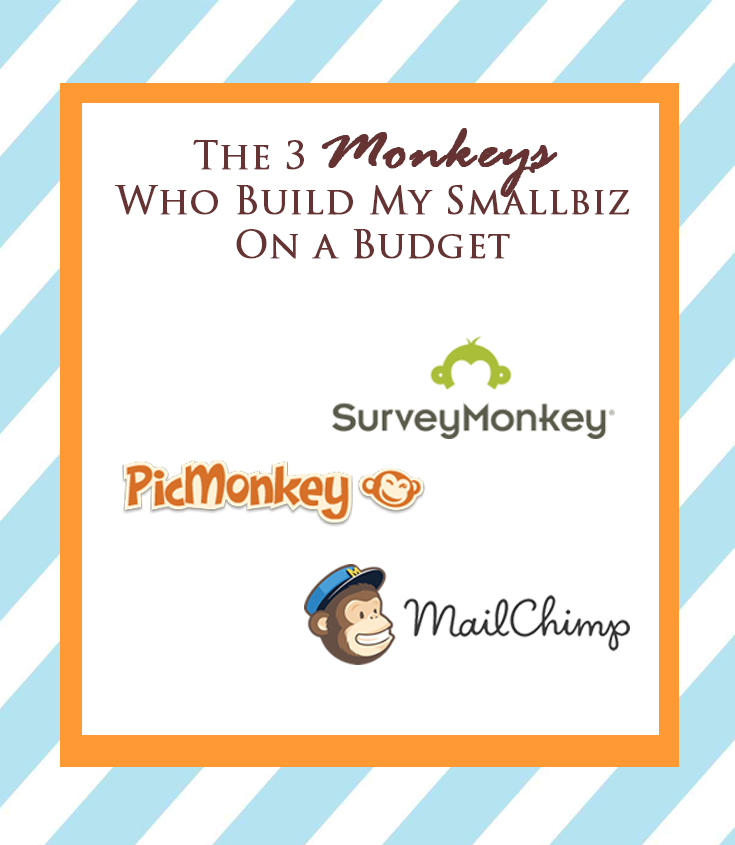 The 3 Monkeys Who Build My Smallbiz On a Budget