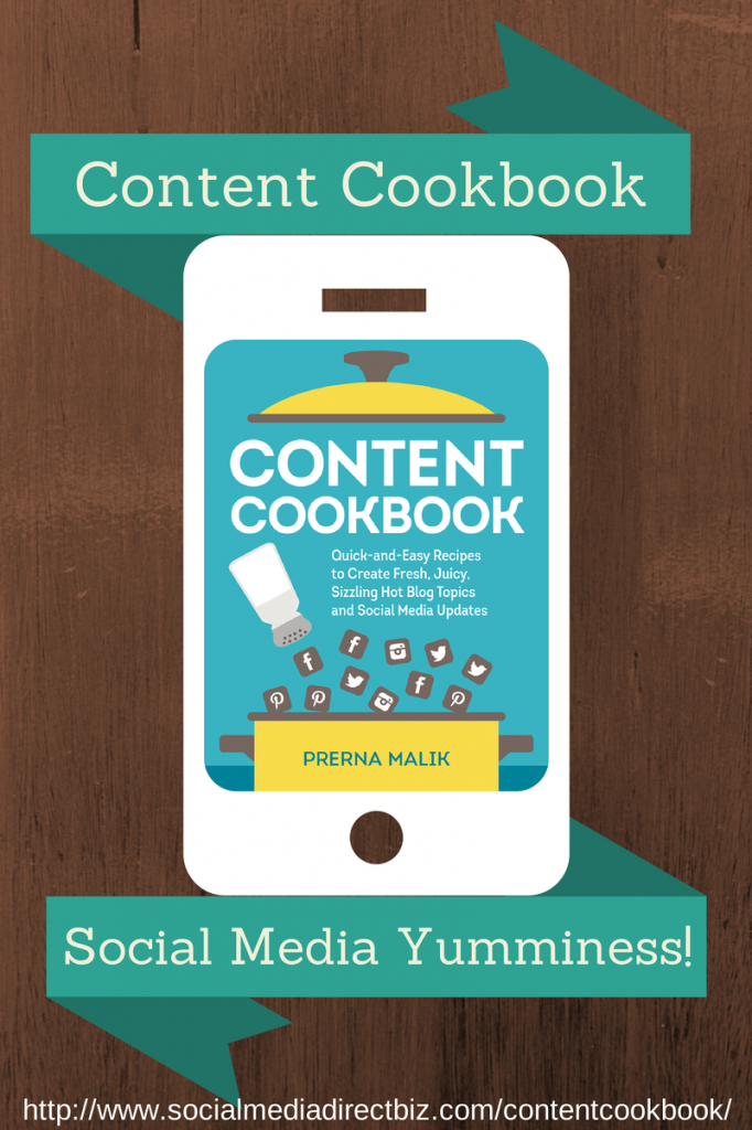 Content Cookbook social media workbook
