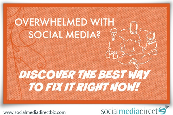 Social Media Overwhelm? Change the Way you Engage