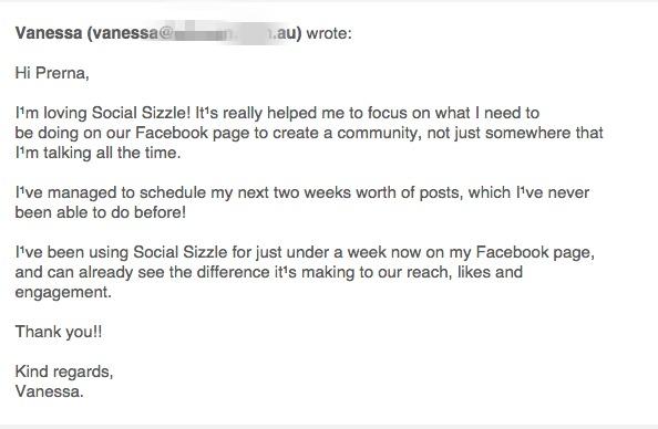 social sizzle