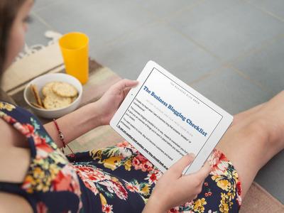 The Business Blog Brew Checklist