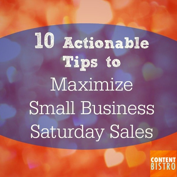 Holiday Marketing 101: How to Maximize Sales with Small Business Saturday