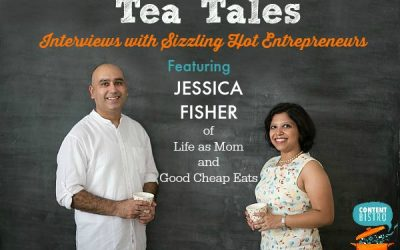 Tea Tales, Entrepreneur Interviews: Chatting with Jessica Fisher of Life as Mom and Good Cheap Eats