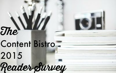 We Need Your Help aka The Content Bistro Reader Survey