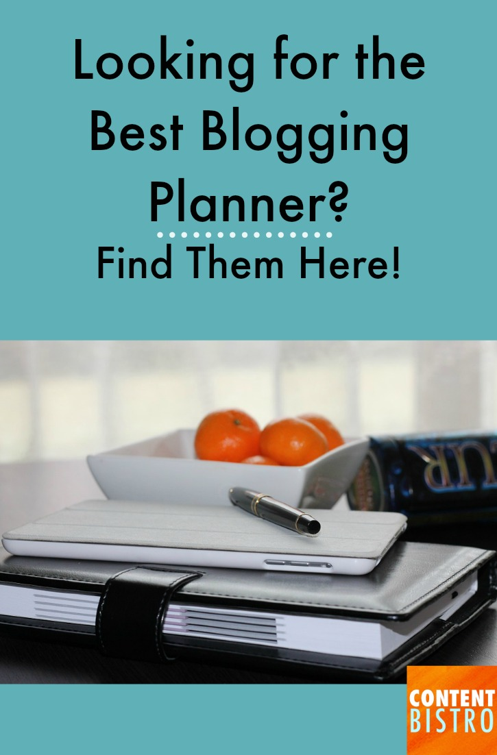 LOOKING FOR THE BEST BLOGGING PLANNER...