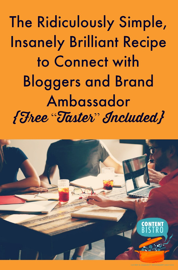 The Scrumptious-est Blogger Outreach Strategy {Free PDF Included}