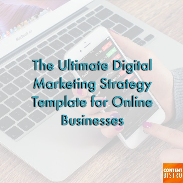 the ultimate digital marketing strategy template for online store owners