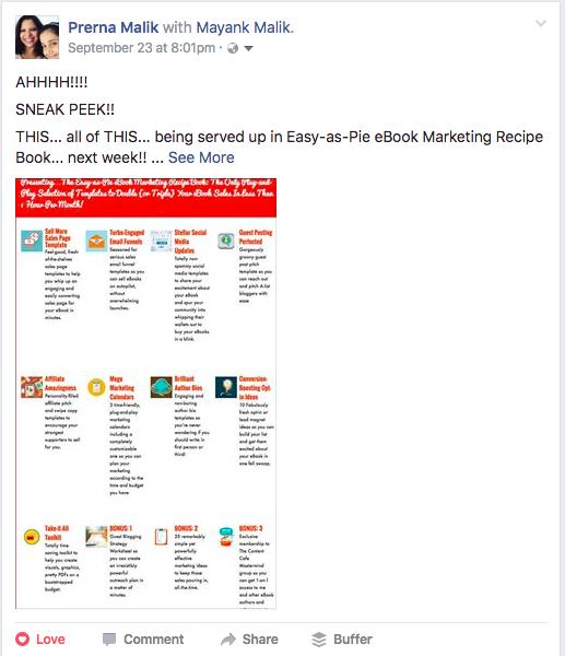 eBook Promotion on Social Media