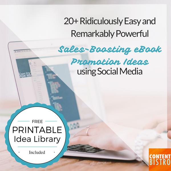 eBook Promotion Ideas