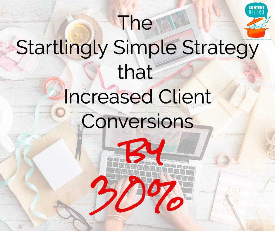 Client Conversion Strategy