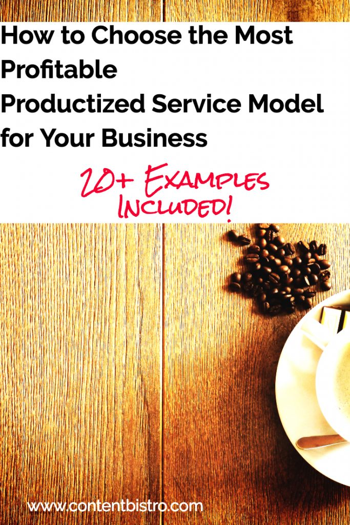 How to Create Profitable Productized Services
