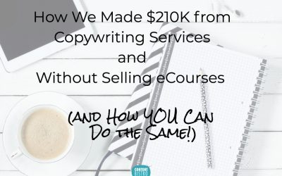 The Single Biggest Profit Maker for Our Copywriting Business: How We Generated $210K Without Launching a Single eCourse