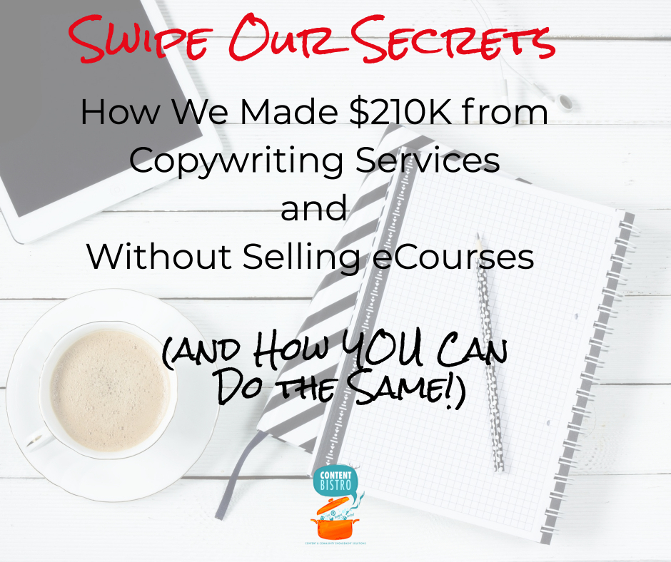 How we Made $210K from Copywriting Services and You Can Too!