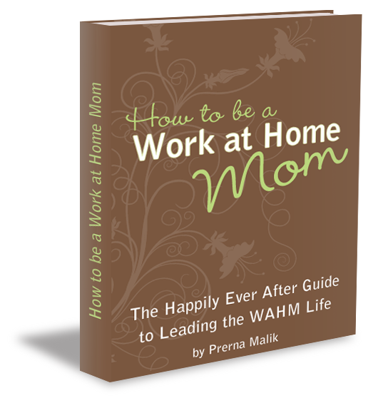 How to be a Work-At-Home Mom