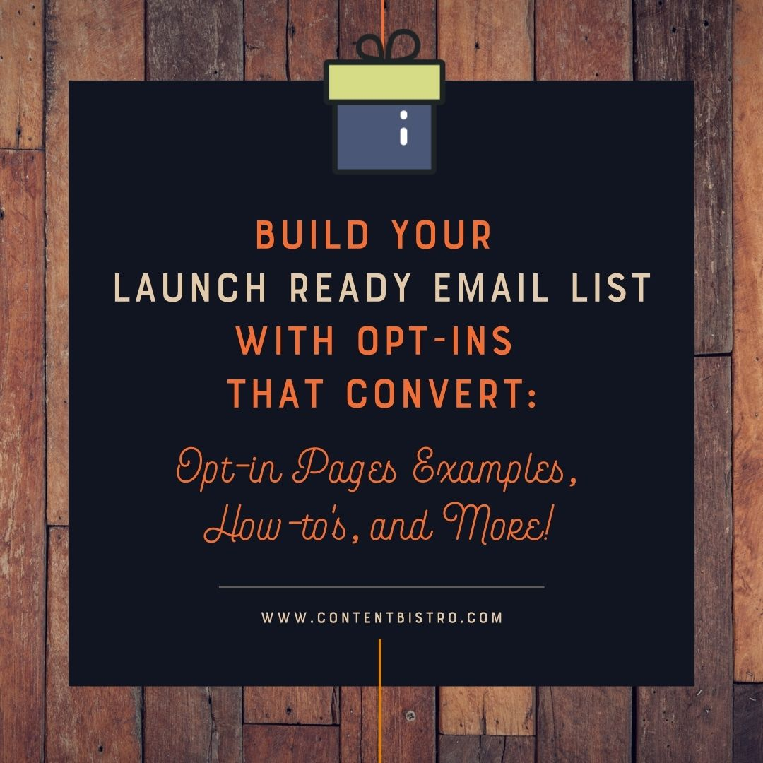 Build Your Launch-Ready Email List with Course-Specific Opt-in Pages That Convert: Opt-in Page Examples, How-tos, and More!
